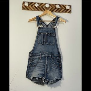 American Eagle Outfitters short overalls